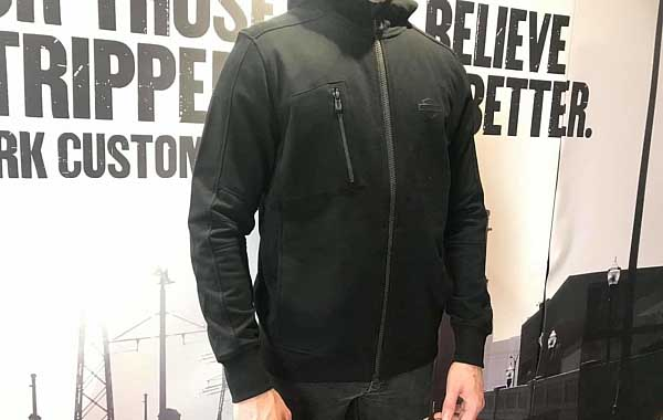 MENS Harley-Davidson Hoodie Quilted Shoulder