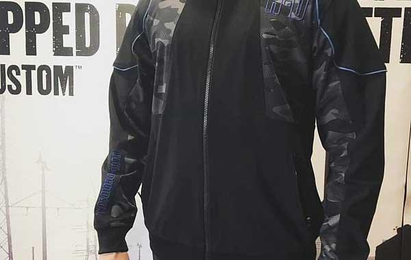 MENS Harley-DAVIDSON hoody Camo full zip
