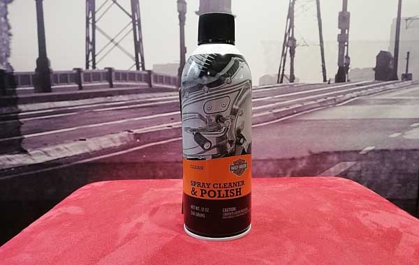 Harley-davidson spray polish and cleaner