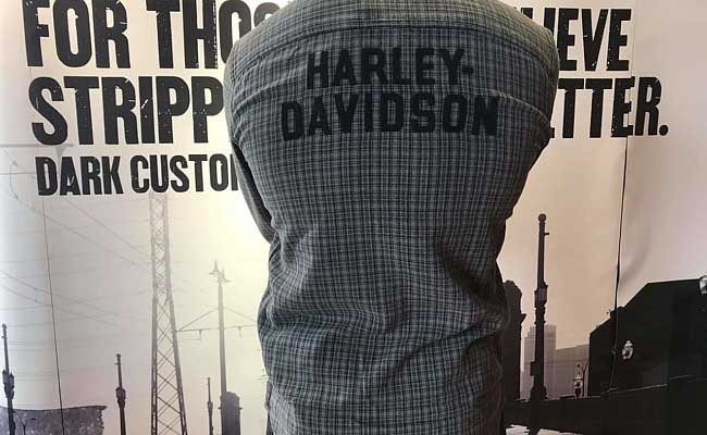 MENS-Harley-Davidson-Shirt-Woven-Plaid-back
