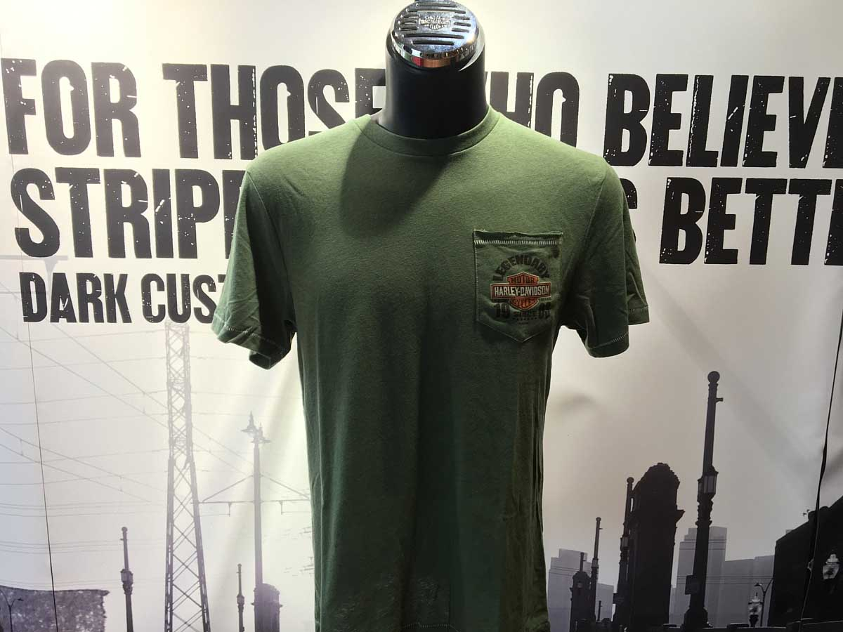 GREEN T FRONT